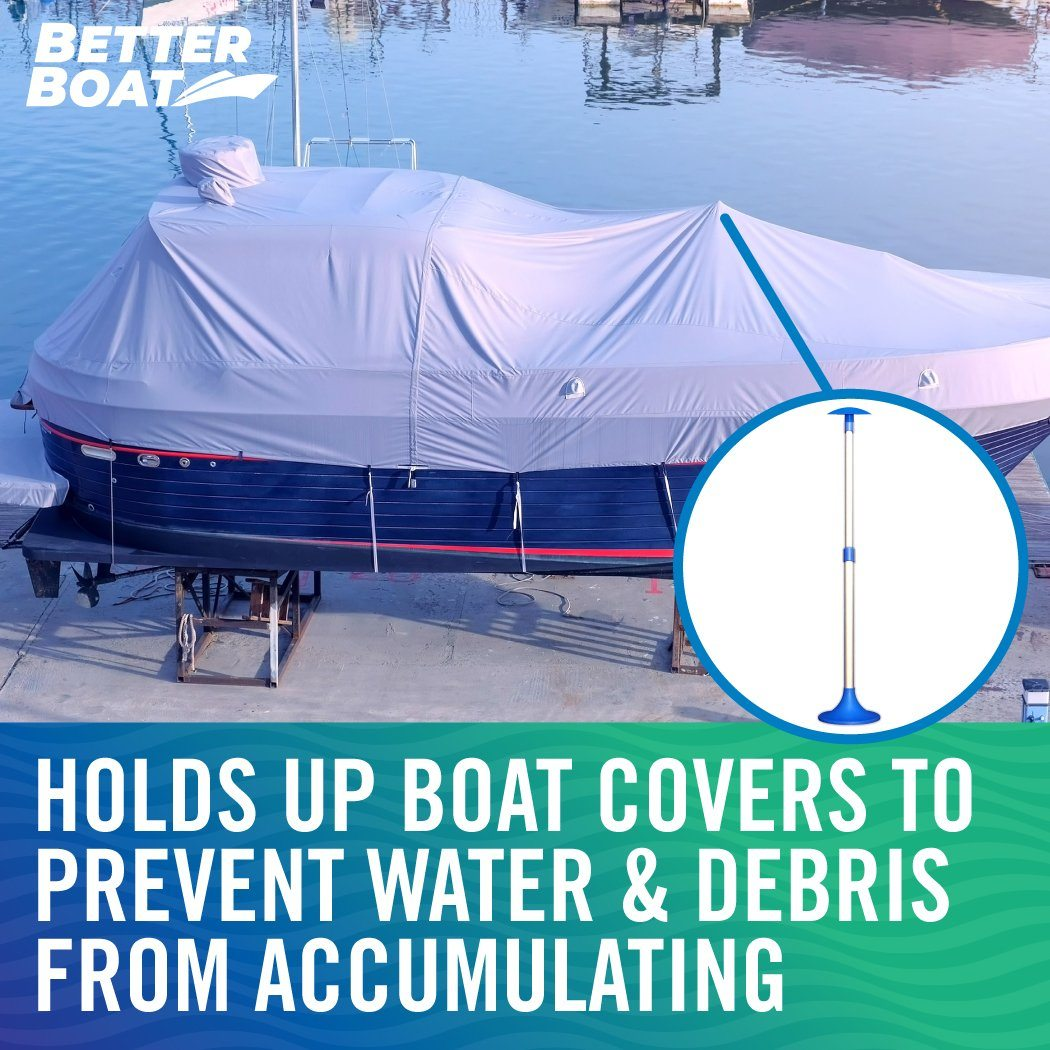 boat cover poles - cleaning mistakes