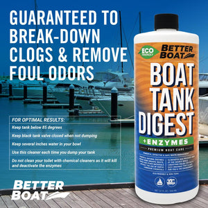Boat Enzymatic Toilet Tank Digest Safe for Water