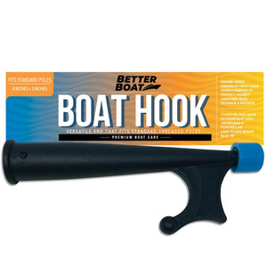 "Boat Hook With Standard Pole Screw End 3/4"" Thread"