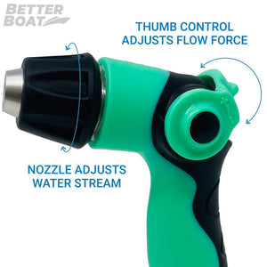 Boat Hose Nozzle Twist On and Off