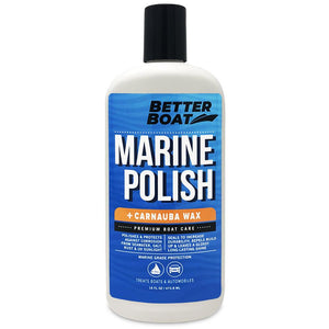 Boat Marine Polish With Carnauba Wax