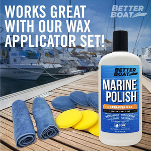 Boat Marine Polish With Carnauba Wax Use with Wax Sponges