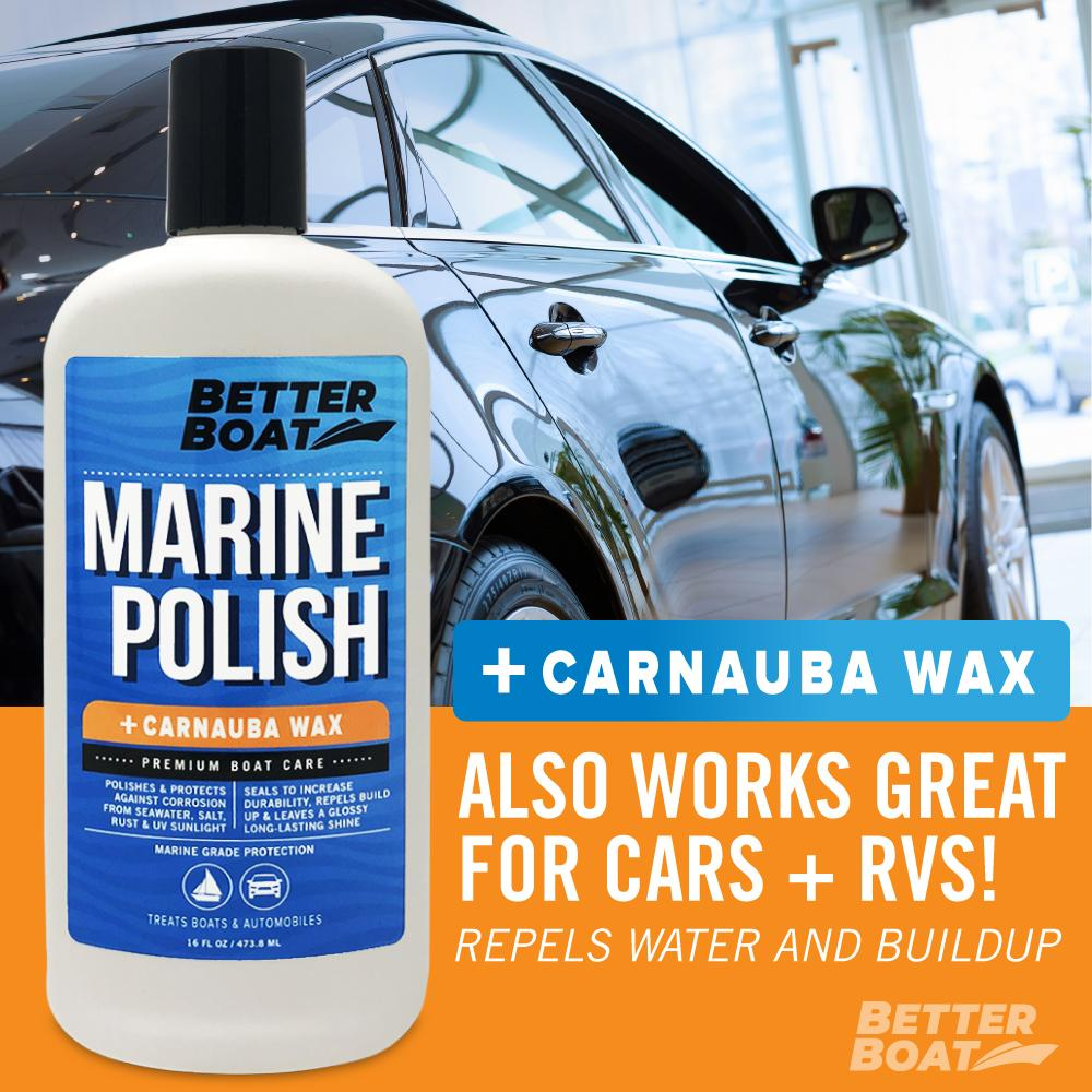 Load image into Gallery viewer, Boat Marine Polish With Carnauba Wax on Cars
