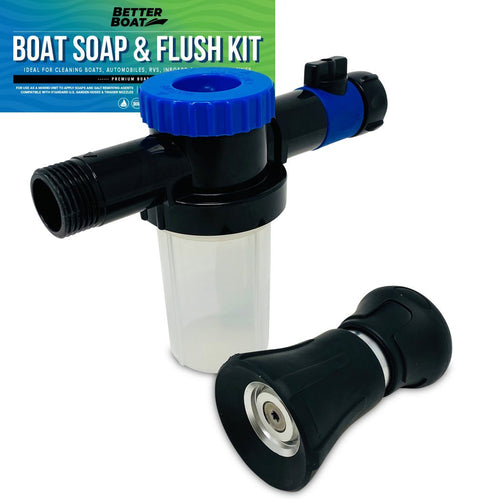 Boat Soap Wash Sprayer And Boat Engine Flush Kit