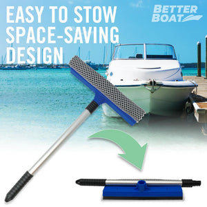 Boat Squeegee And Sponge Folds Up Small
