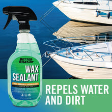 Load image into Gallery viewer, Boat Wax Sealant Hybrid Ceramic Spray At Marina for Boats
