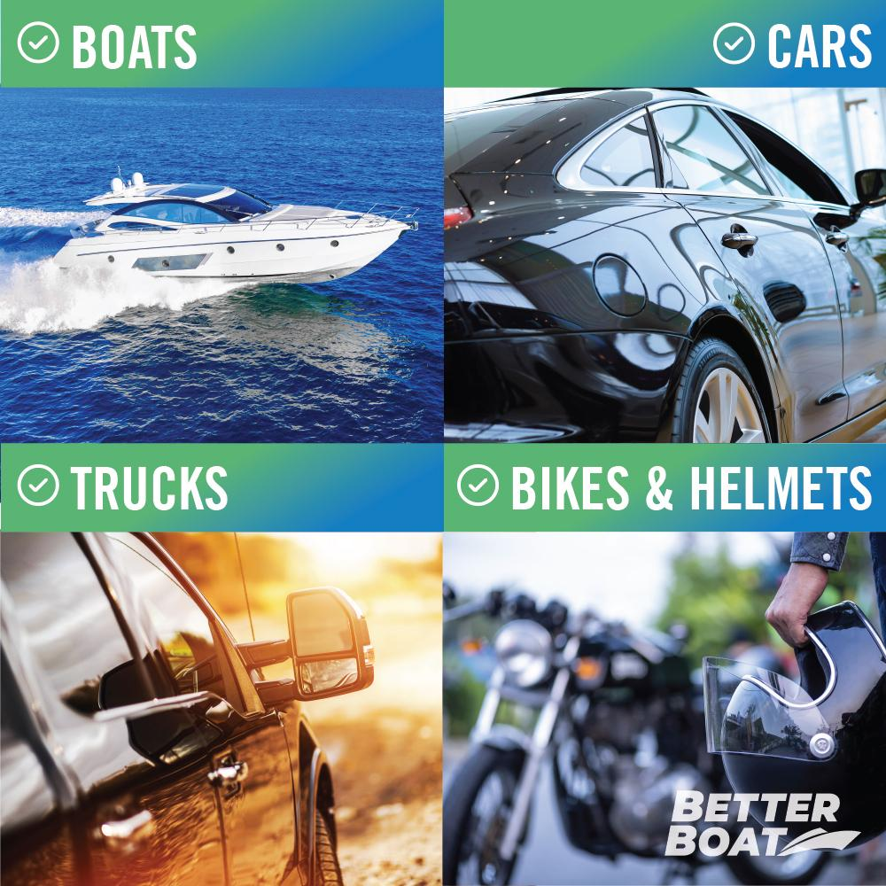 Load image into Gallery viewer, Boat Wax Sealant Hybrid Ceramic Spray for Motorcycles Cars Trucks and Boats