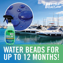 Load image into Gallery viewer, Boat Wax Sealant Hybrid Ceramic Spray Beading Water