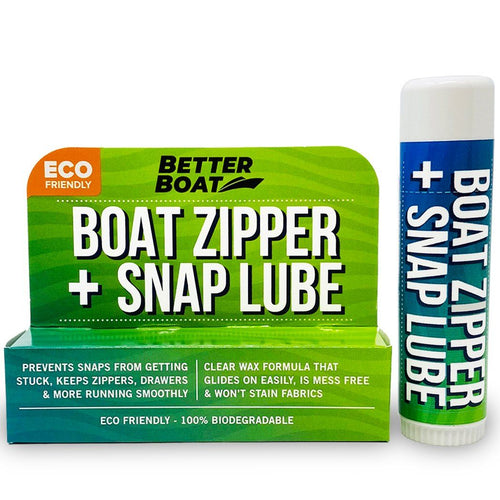 Boat Zipper And Snap Lube