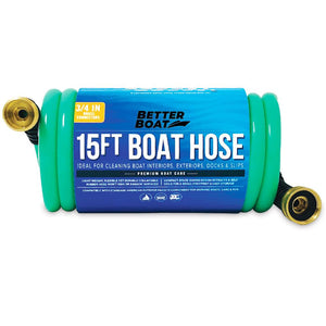 Coil 15FT Boat Hose
