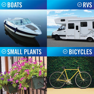 Coil 15FT Boat Hose on RVs Bikes Plants