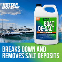 Load image into Gallery viewer, De-Salt Concentrate in front of Marina Breaks Down Deposits