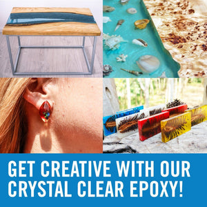 Epoxy Resin Table Top Gallon Set For casting tables jewelry