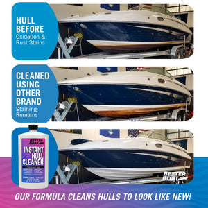 Instant Boat Hull Cleaner