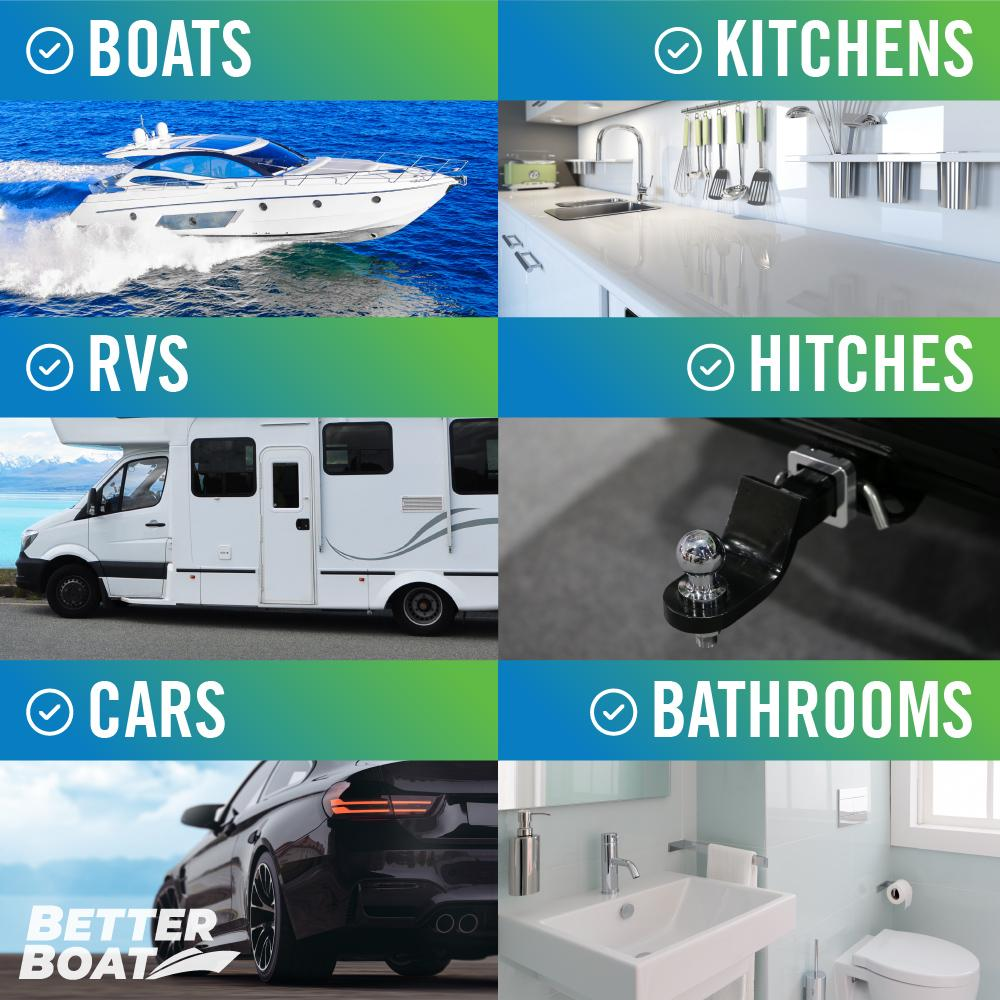 Load image into Gallery viewer, Marine Degreaser Black Streak Remover RV kitchen hitch cars boats