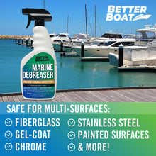 Load image into Gallery viewer, Marine Degreaser Black Streak Remover multiple surfaces