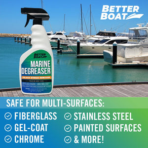 Marine Degreaser Black Streak Remover multiple surfaces