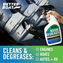 Load image into Gallery viewer, Marine Degreaser Black Streak Remover engine grime removal