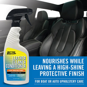 Marine Leather Cleaner And Conditioner Works Cars