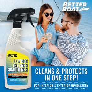 Marine Leather Cleaner And Conditioner One Step