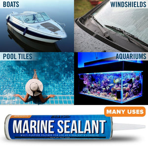Boat Pool Windshield Aquarium Marine Glue Caulk