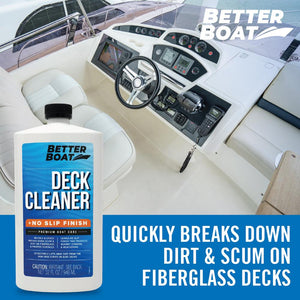 No Slip Boat Deck Cleaner Perfect on Boat Deck