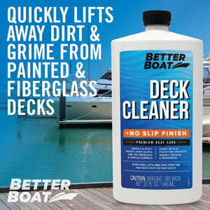 No Slip Boat Deck Cleaner Fiberglass and Decks