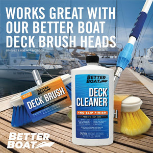 No Slip Boat Deck Cleaner With Brushes