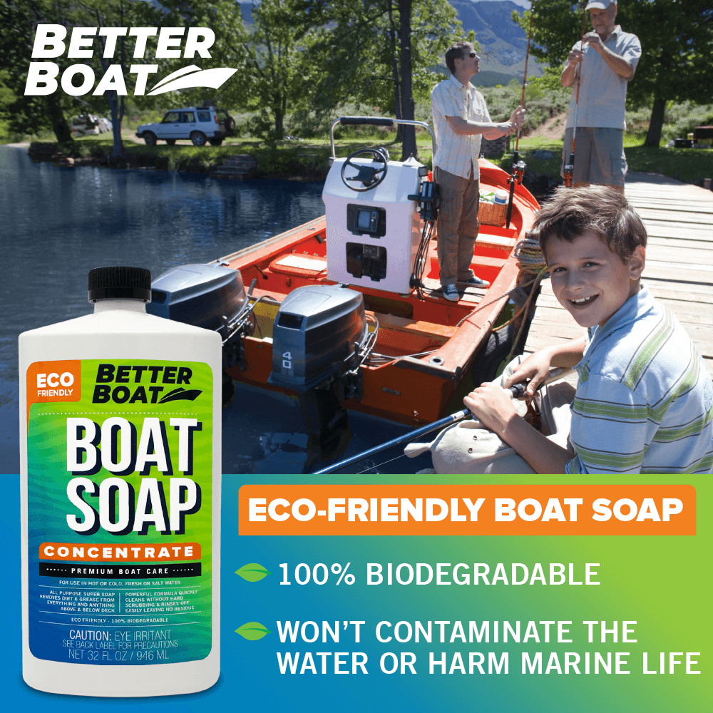 Load image into Gallery viewer, Premium Boat Soap Concentrate safe on the water