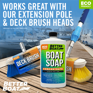 Premium Boat Soap Concentrate use with brushes