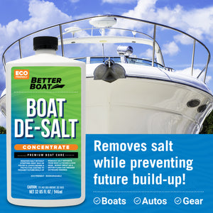 Boat Squeegee and Sponge