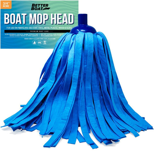 Synthetic Chamois Mop Head