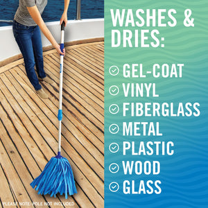 Mop for Boat Cleaning