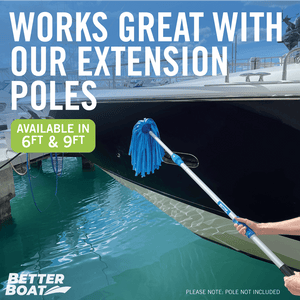 Mop with Extension Pole for Boat