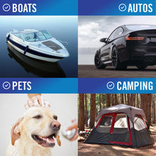 Load image into Gallery viewer, Synthetic Chamois Wash Towel For Boats Cars Camping and Pets