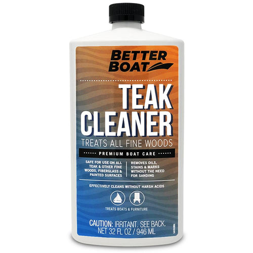 Teak Cleaner Front Bottle