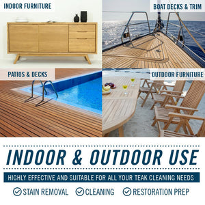 Teak Cleaner Different Types of Wood to Clean