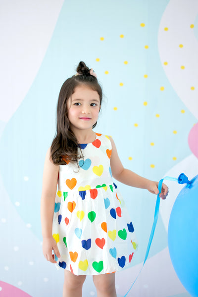 Heart Bubble Playdress - MILLAROLLA