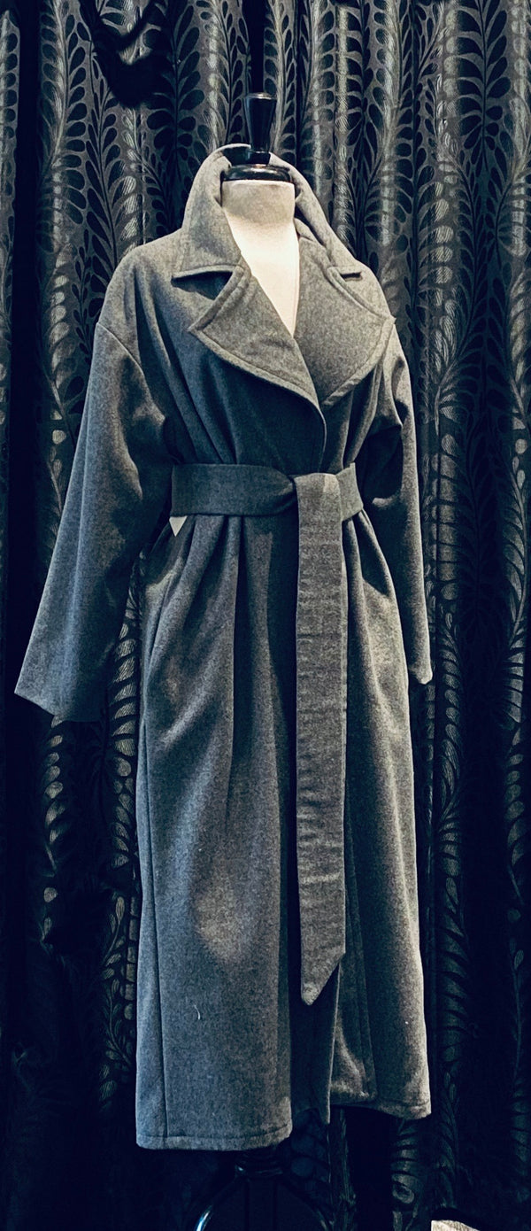 Overcoat - Grey Wool