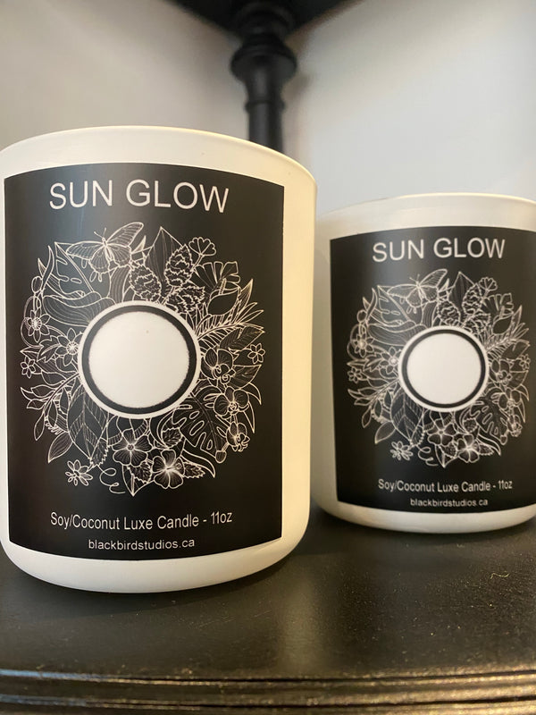 Coconut/Soy Luxe Candle - Sun Glow