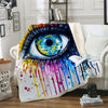 EYE FLEECE BLANKET
