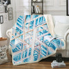 IRREGULAR FIGURE FLEECE BLANKET