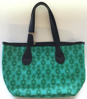 Teal & Black Lexington Avenue Lizzy Handbag
