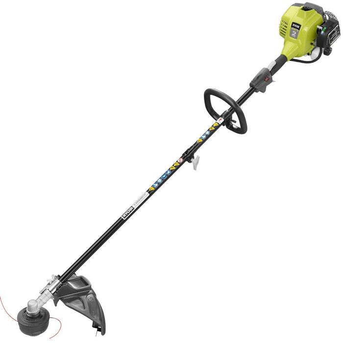 Ryobi 25cc 2-Cycle Attachment Capable Full Crank Straight Gas Shaft String Trimmer