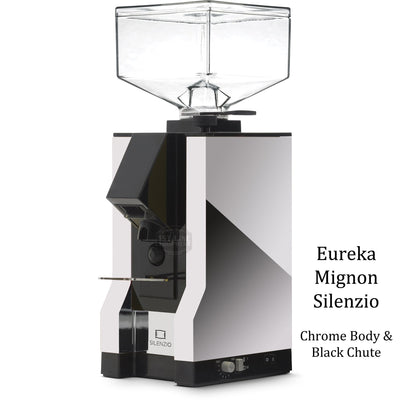 Eureka Mignon Silenzio - Chrome Body Black Chute