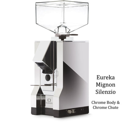 Eureka Mignon Silenzio - Chrome Body Chrome Chute