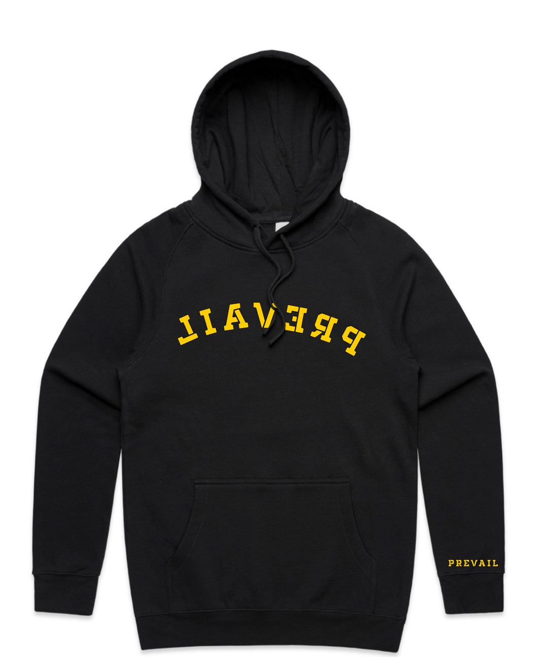 Mirror Hoodie - Blvck & Yellow