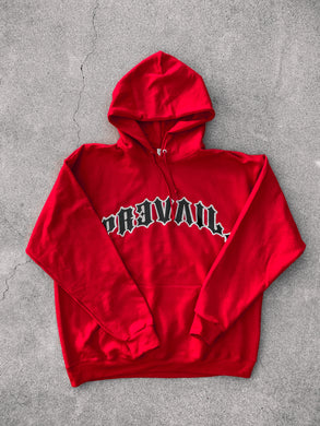 Prevail - Red hoodie