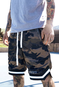 Camo Basketball Shorts