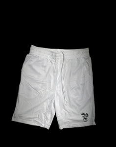 Essential Basketball Shorts ( white )